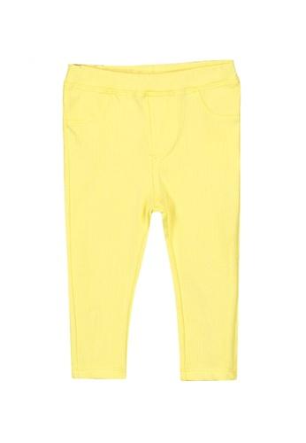 LC Waikiki yellow Baby Girl's Cotton Leggings 20DF7KA7D3BCAFGS_1