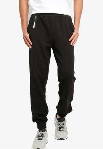 Puma black Nu-Tility Knit Pants 9AC8AAA8033484GS_1