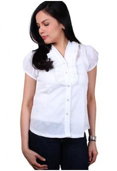 Jewel Fashionable Ladies Work Shirts/Formal Shirt