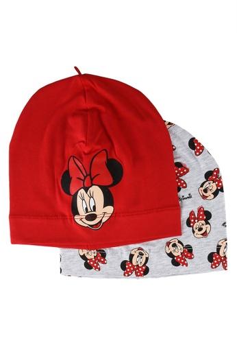 LC Waikiki red 2-Packs Baby Girl's Minnie Mouse Beret 0243FKC4DE56D6GS_1