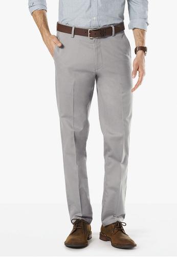 Dockers grey Dockers Stretch Slim Fit Pants Burma Grey DO282AA0FNZKSG_1