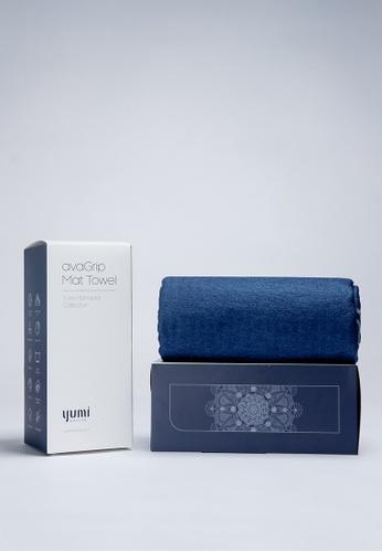 Yumi Active blue Yumi Active avaGrip Mat Towel Lunisolar (Misty Blue) 8E84BACFBB9DC6GS_1