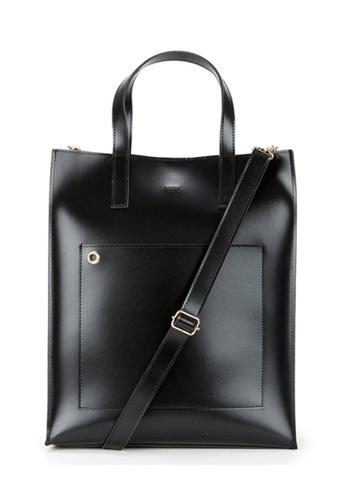 Peeps black Striking Tote Bag DFD0EAC3CBAE7AGS_1