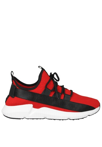 Tomaz Tomaz TR1006 Running Sneakers (Red White) 6E7CASH69DCAC2GS_1