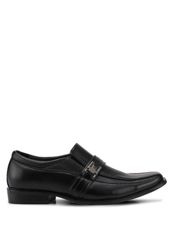 Rocklander black Formal Shoes D898ESHF61B1A6GS_1