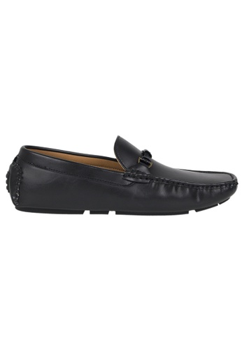 Tomaz black Tomaz C299 Buckle Loafers DA3F3SH64341C4GS_1