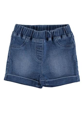 LC Waikiki blue Baby Girl Denim Shorts 60720KA6BA44EEGS_1