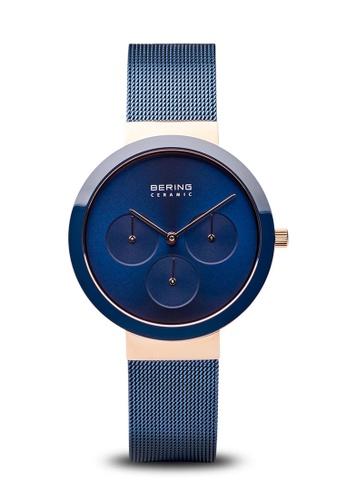 Bering blue Bering Ceramic blue 36 mm Female  Watch (35036-367) 3A198AC72E7424GS_1