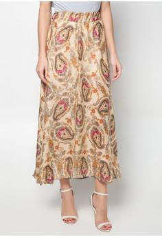 Dea Side Slit Maxi Skirt
