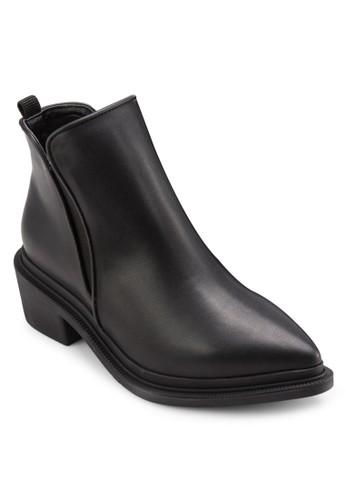 尖頭低跟短靴, 女鞋, esprit服飾靴子