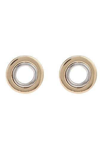 niko and ... gold Circular Earrings CD8C2ACD8C484CGS_1