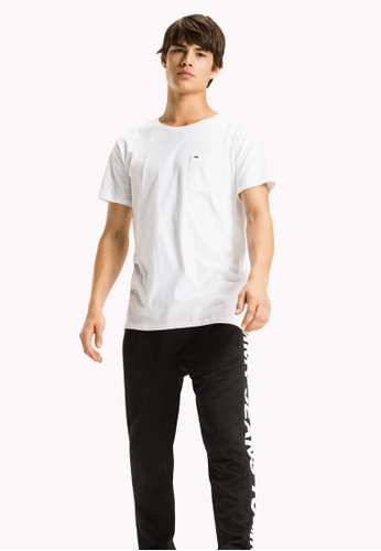 Tommy Jeans white TJM DRY POCKET TEE 2510BAA826802AGS_1