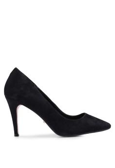 bcc3f7185f Dune London black Angelle Mid Heel Court Heels 9D245SHA76CEEDGS 1