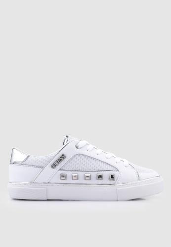 Guess 黑色 紋理鉚釘運動鞋 DFCDESHB739F02GS_1
