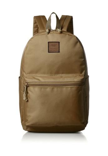 Anello brown Unisex Minimal Style Nylon Rucksack AT-B1761 – COY AN821AC25TPUHK_1