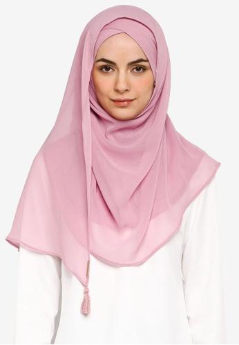 Bokitta pink Smoothie Instant Hijab D9E83AAFED7CEEGS_1