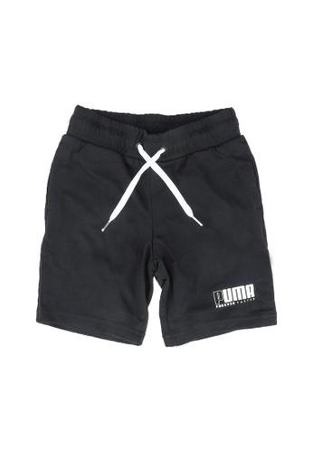 PUMA black Alpha Jersey Shorts 031B2KAC7ABF06GS_1