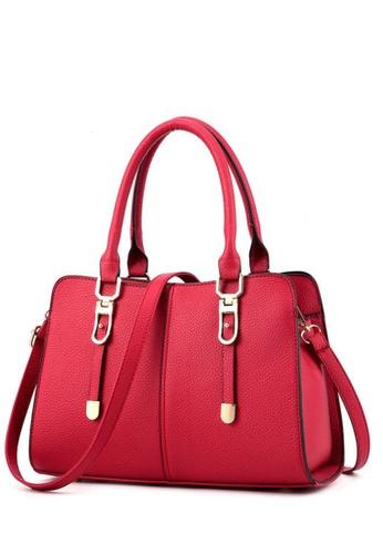 TCWK red TCWK Korea Style Red Ladies Handbag TC258AC0S9PWMY_1