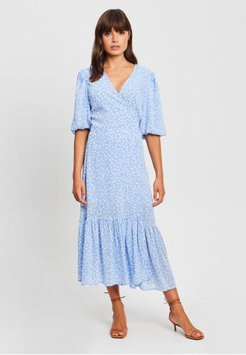 Tussah blue Kinsley Midi Dress 07628AAF266DB3GS_1