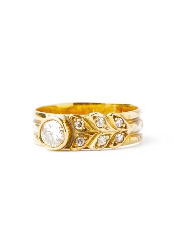 CEBUANA LHUILLIER JEWELRY gold 14 Karat Yellow Gold Ring With Diamonds 5BCBAAC9CD3D1BGS_1