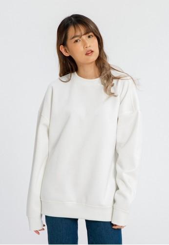 ALOWALO white Alowalo - Danbooru Sweatshirt Women - White 04A1BAAA1052EEGS_1