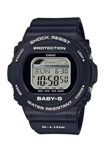 CASIO black Casio Baby-G G-Lide Black Resin Watch D5E07AC26D39EAGS_1