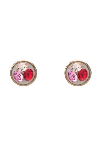 水晶耳環, 飾品esprit台灣門市配件, 飾品配件