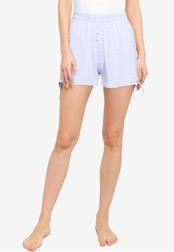 Cotton On Body multi Jersey Placket Bed Shorts 2123EAAAC76D1CGS_1