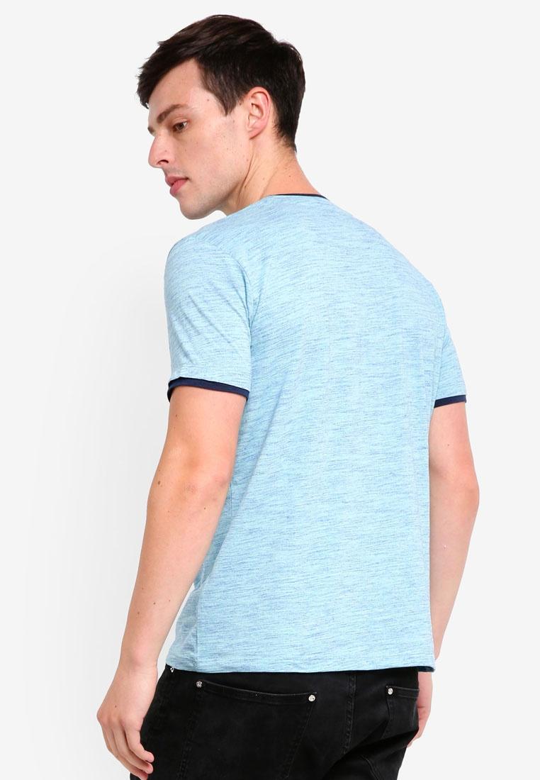 Aqua Sleeve Green Shirt T Short ESPRIT qan66x