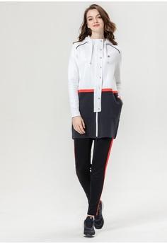 9cc8fb97dad7b FILA Hooded Mid-length Jacket HK$ 1,840.00. Sizes S M L XL
