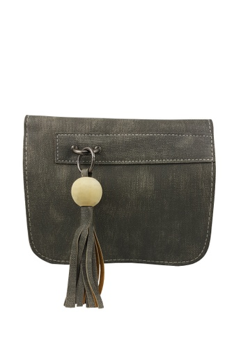 TCWK grey TCWK Women Green Mini Sling Bag F39D3AC3555C94GS_1