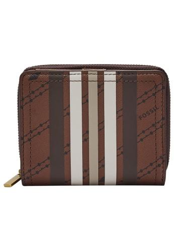 FOSSIL brown Logan Wallet SL6512199 61185ACA058268GS_1