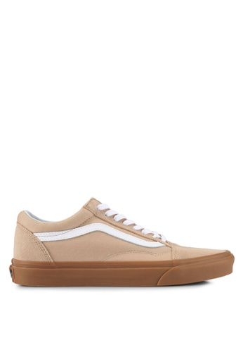 VANS brown Old Skool Sneakers VA142SH0SWNEMY_1