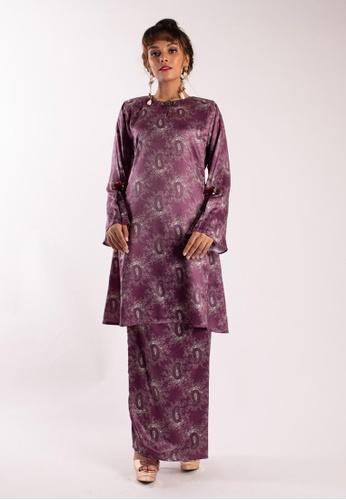 Deanna Kurung Pahang from LIDYA KUALA LUMPUR in pink and purple_1