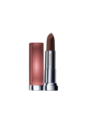 Maybelline brown Maybelline Color Sensational Powder Matte Lipstick Inti-Mattes Nudes - Raw Cocoa MNU 12 1A950BE2C339E3GS_1