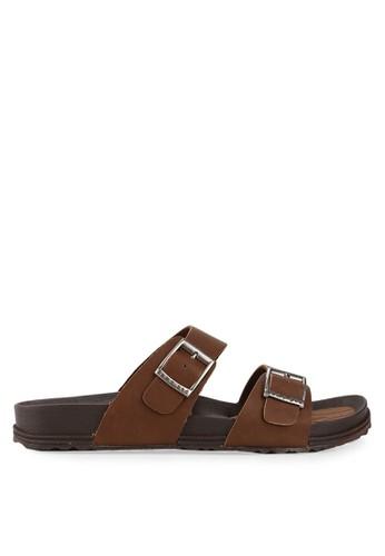 Homyped brown Navara 01A Men Sandals HO842SH35VCQID_1