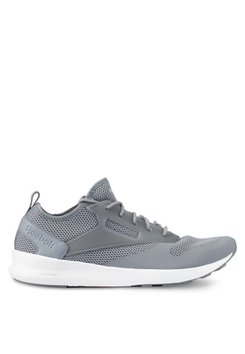 Reebok grey and white Zoku Runner Shoes RE691SH0S9Y9MY_1