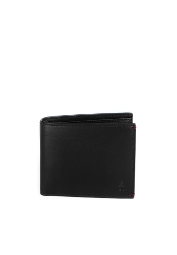 Gnome and Bow black Linden Coin Billfold GN097AC72MQDSG_1