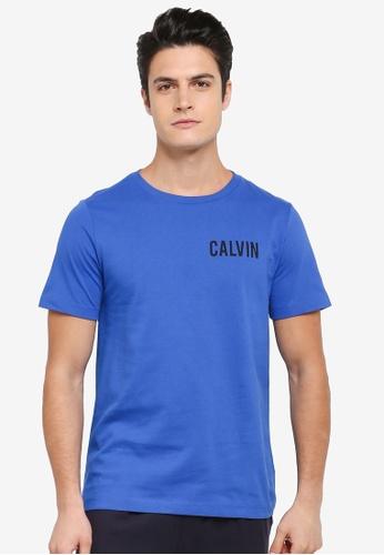 Calvin Klein blue Toreos Regular Crew Neck Short Sleeve T-Shirt - Calvin Klein Jeans 99408AAC1D5813GS_1
