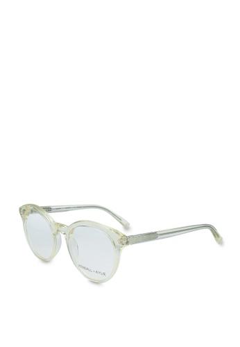 Kendall + Kylie beige Arianna Glasses 19B91GL315EBADGS_1