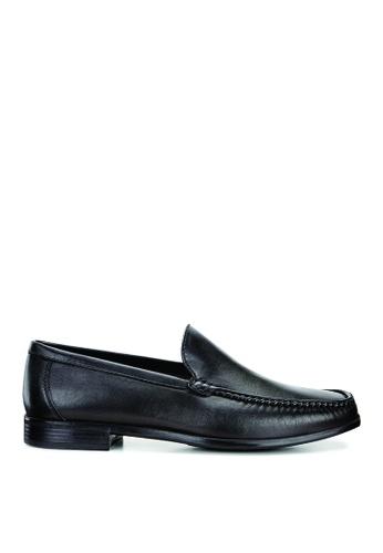 ECCO black Dress Moc Black Sheep Leather 577D0SH7C9A96FGS_1