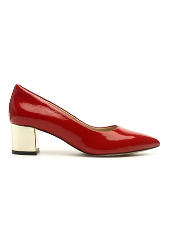 Byford red Helena Pointed Toe Heels 46CB5SH4C2A022GS_1