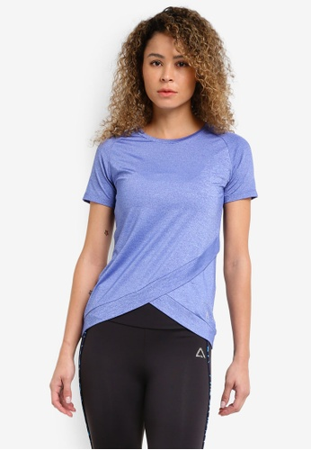 AVIVA blue Athletic Short Sleeve T-Shirt AV679AA23AAEMY_1