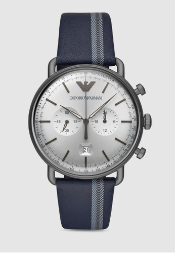 89e86c3711a5 Buy Emporio Armani Aviator Watch AR11202 Online on ZALORA Singapore