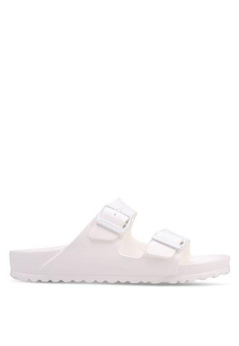 Birkenstock white Arizona EVA Sandals 865E4SH2CF8B15GS_1
