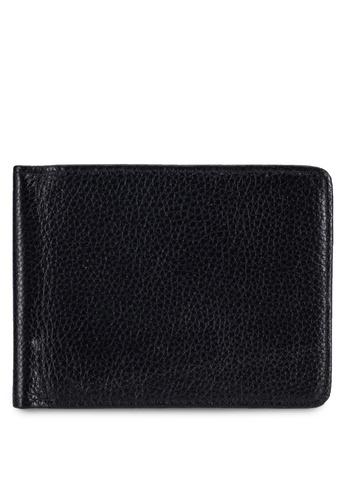 UniqTee black Uniqtee Rfid Blocking Bifold Wallet UN097AC0RFW1MY_1