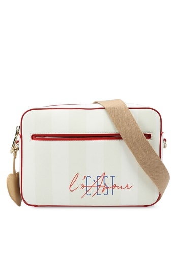ELLE beige Amour Camera Bag BB2A4ACE55989BGS_1