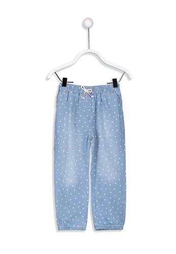 LC Waikiki blue Spotty Jeans 3E7B4KA66B1A07GS_1