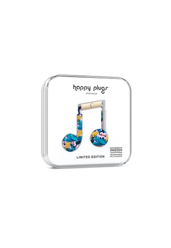 happy plugs pink and blue Happy Plugs Earbud Plus - Toco Loco 9B189ACB6F7023GS_1