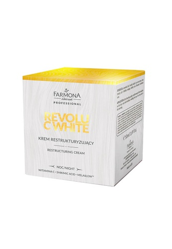 Farmona REVOLU C WHITE Restructuring Cream, 50ml A039BBE9FA6E67GS_1
